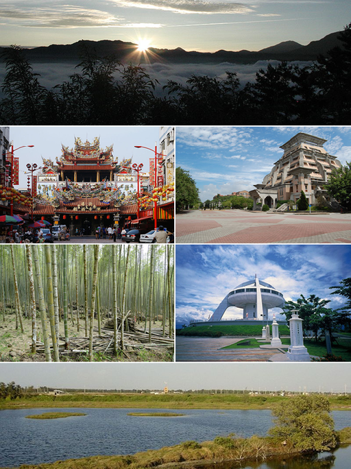 Chiayi County Montage