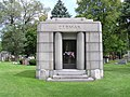 Chicago, Bohemian National Cemetery, Anton Cermak.jpg