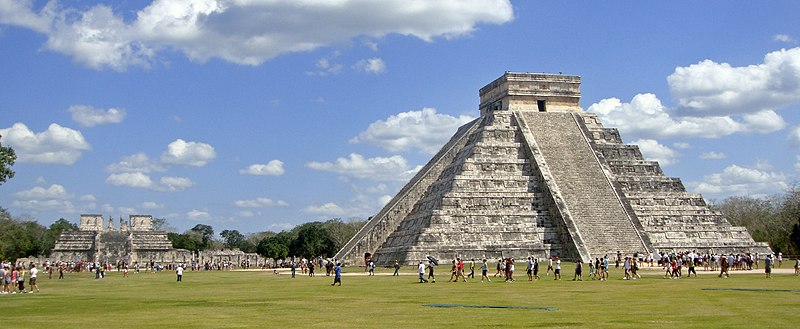 Chichen Itza, Mayan archaeological site, Yucatán Peninsula, Mexico