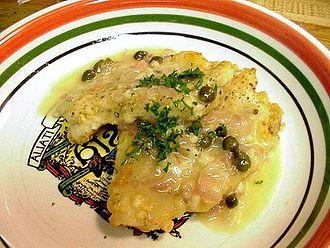 Piccata - Chicken piccata