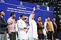 Chief minister of Odisha inaugurating Khelo India University Games 2020.jpg