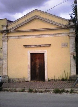 Church of Madonna del Riposo (Alcamo) - The façade