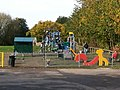 Childrens playground, Peterchurch - geograph.org.uk - 1555220.jpg