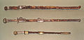 Chinese swords Sui Dynasty top and Japanese Kofun period sword bottom about 600.jpg