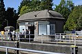 Chittenden Locks - attendants relaxing.jpg