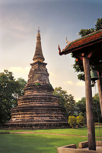 Wat Umong - The Chedi of Wat Umong