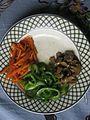 Chopped capsicum, mushroom and carrot in a plate 02.jpg
