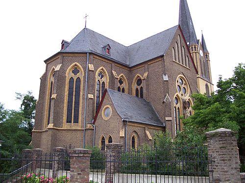 Chorseite St. Evergislus Bornheim-Brenig (Rheinland)