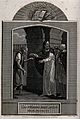 Christ heals the man with the withered hand. Etching by J. B Wellcome V0034925.jpg