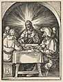 Christ in Emmaus, from The Small Passion MET DP816058.jpg