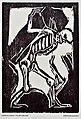 Christian Rohlfs - Tod mit dem Sarg, Holzschnitt 1917.jpg