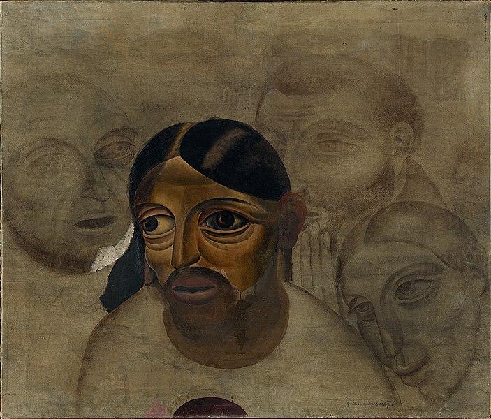 File:Christus van een Laatste Avondmaal, Gustave van de Woestyne, 1926, Groeningemuseum, 0040237000.jpg