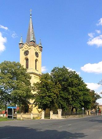 Nebušice - Church in Nebušice