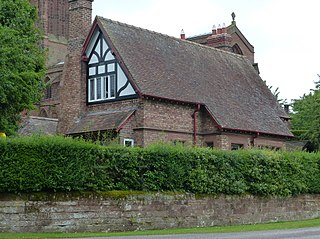 Church Cottage, Eccleston grade II listed house in the United kingdom