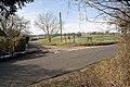 Church Lane emerges onto the road at Lane End - geograph.org.uk - 1153492.jpg
