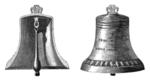Church bell cutaway
