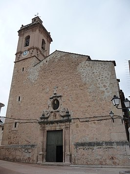Church of San Miguel Arcángel, Arañuel 04.JPG