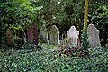 Church of St Andrew's, Boreham, Essex - grave stones at west of churchyard 1.jpg