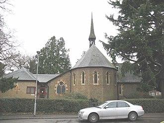 Kingston Vale - Image: Church of St John the Baptist, Kingston Vale geograph.org.uk 674012