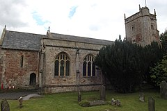 Church of St Laurence, East Harptree side.JPG