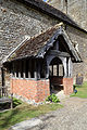 Church of St Mary the Virgin, Shipley, West Sussex, England ~ exterior south porch.JPG