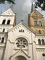 Church of the Sacred Heart of Jesus in Slabodka - panoramio - Andrej Kuźniečyk.jpg