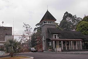 Cibodas Botanical Garden - Image: Cibodas Botanical Garden main entrance