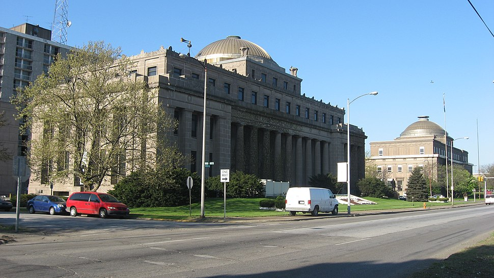City Hall and Superior Courthouse in Gary