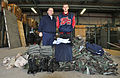 Civil Air Patrol Capt. Ted Petroulis (left) and CAP Master Sgt. Brandon Petroulis, cadet, in Delaware.jpg