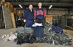 Civil Air Patrol Capt. Ted Petroulis (left) and CAP Master Sgt. Brandon Petroulis, cadet, in Delaware.jpg