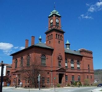 Claremont, New Hampshire - City Hall