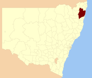 Clarence Valley Council - Location in New South Wales