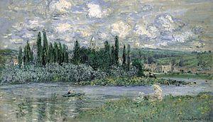 Vétheuil - Claude Monet: Vétheuil-sur-Seine
