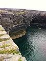 Cliffs and blue sea - Black Fort (6030586583).jpg