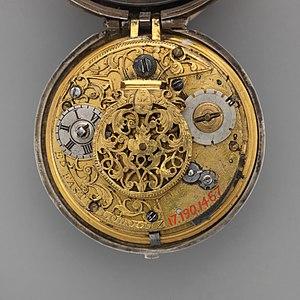 Edward East (clockmaker) - Image: Clock watch MET DP 12603 091