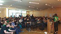 Closing session public Wikimedia Hackathon 2017.jpg