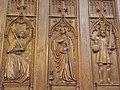 Co-cathédrale N.D. de Bourg-en-Bresse (Stalles- Gabriel, la Vierge et Charlemagne).jpg