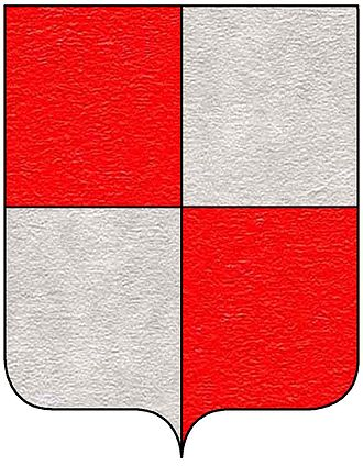 Centurione II Zaccaria - Coat of arms of the Zaccaria family.