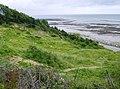 Coastal slump at Black Rock Ledge - geograph.org.uk - 484624.jpg