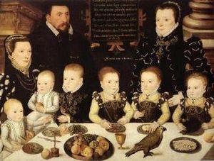 Frances Newton, Baroness Cobham - Cobham family memorial portrait