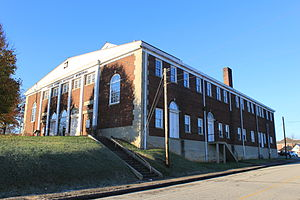 National Register of Historic Places listings in Cocke County, Tennessee - Image: Cocke County Memorial Building Newport Tennessee