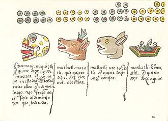 Codex Magliabechiano - Image: Codex Magliabechiano folio 12r