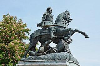 equestrian statue of Francis I