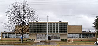 Coke County, Texas - Image: Coke county courthouse 2009