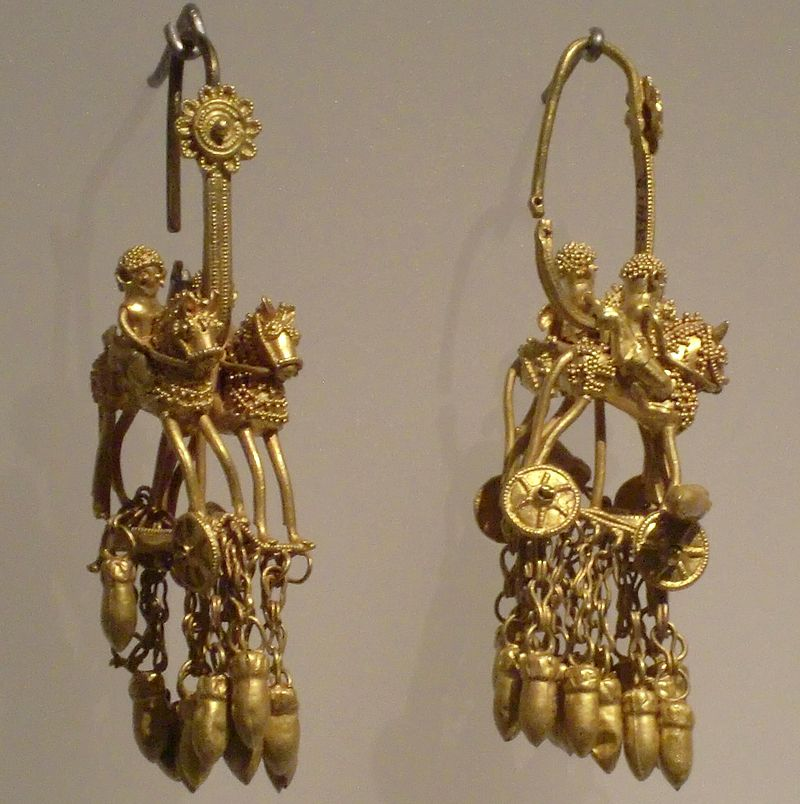Colchis riders pendants - pair.JPG
