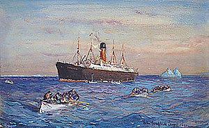 Rescue of the Survivors of the Titanic by the ...