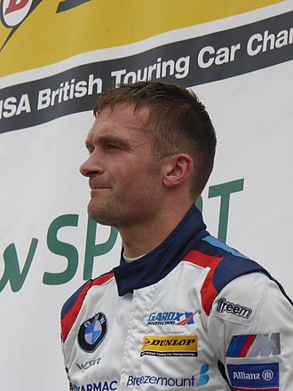 Colin Turkington - Turkington at the Knockhill round of the 2017 British Touring Car Championship.