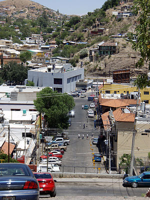 Sonora - Colonia Centro, calle Pierson, Nogales