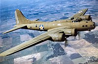 'n Boeing B-17 Flying Fortress.