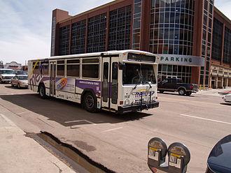 Gillig Phantom - A 1999 Gillig Phantom operated by Mountain Metropolitan Transit in Colorado Springs, CO.